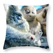 Yeti Store Throw Pillow by Scott Wyatt