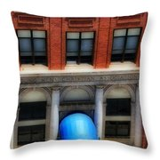 Ymca Throw Pillow