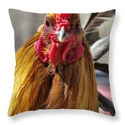 Yo Human Throw Pillow