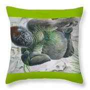 Yoga Exotica Throw Pillow