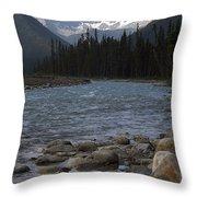 Yoho National Park British Columbia Throw Pillow