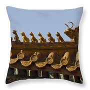 Yonghegong Lama Temple 9482 Throw Pillow