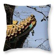 Yonghegong Temple 9108 Throw Pillow