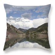 York Bridge Throw Pillow