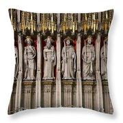 York Minster Statues 6100 Throw Pillow