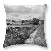 Yorkshire Dales Uk Throw Pillow