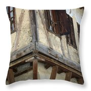 Yoruk Village House Throw Pillow