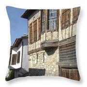 Yoruk Village Street Throw Pillow