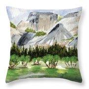Yosemite 1 Throw Pillow