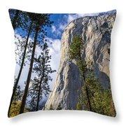 Yosemite In The Fall Throw Pillow
