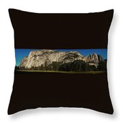 Yosemite Panorama Throw Pillow