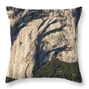 Yosemite Rock Detail Throw Pillow