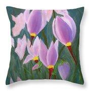 Yosemite Wildflowers Throw Pillow