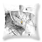 You And Me For Ever Throw Pillow