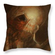 You Are Not Angel Throw Pillow