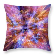 You Are The Lord Throw Pillow