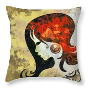 You Are The Only 1 Throw Pillow by Angelina Vick