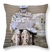 You Are What You Read Throw Pillow