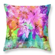 You As Lord Throw Pillow