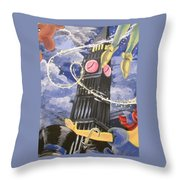 You Can Fly Throw Pillow