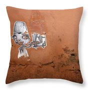 You Can Leave Your Hat On Throw Pillow by A Rey