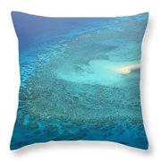 You Found Me Great Barrier Reef Australia  Throw Pillow