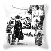 You Get Your Money Back If You Don't Get Laid Throw Pillow