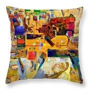 You Graciously Endow Man With Wisdom 16f Throw Pillow