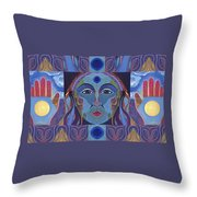 You Have The Power Throw Pillow by Helena Tiainen