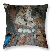 You Left Your Pawprint In My Heart Throw Pillow