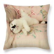 You Love Me Don't You Throw Pillow