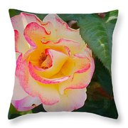 You Love The Roses - So Do I Throw Pillow