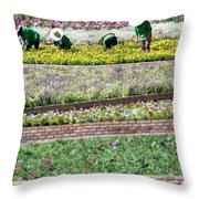 You Reap What You Sow Throw Pillow