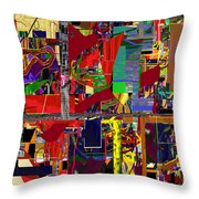 You Saw No Picture 12 Throw Pillow by David Baruch Wolk