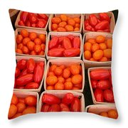 You Say Tomato Throw Pillow