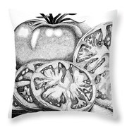 You Say Tomatoes.... Throw Pillow