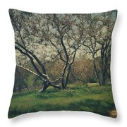 You Smiled And I Knew Throw Pillow by Laurie Search