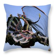 You Spin Me Round Throw Pillow