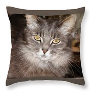 You Think Throw Pillow