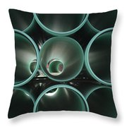 You Too Will Someday Be Underground Throw Pillow