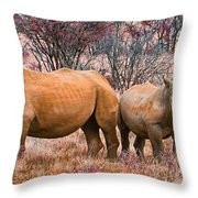 You Watch My Back And I Will Do The Same For You Throw Pillow