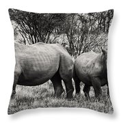You Watch My Back And I Will Do The Same For You V2 Throw Pillow