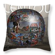 You'll Have A Ball In Allentown Throw Pillow