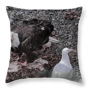 You'll Have To Wait Your Turn Throw Pillow