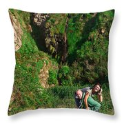 Young Adults   Throw Pillow