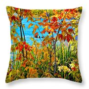 Young And Brash 2 Throw Pillow