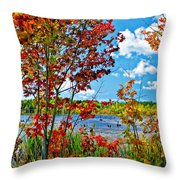 Young And Brash Throw Pillow