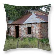 Young Arizona Where Everything Is Old Throw Pillow