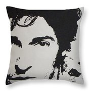 Young Boss Throw Pillow by ID Goodall