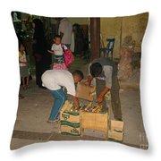 Young Egytian Entrepreneurs Throw Pillow